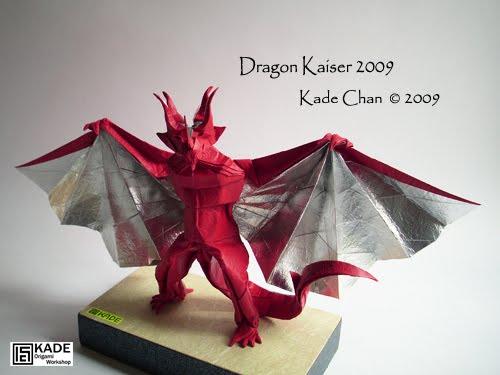 Kade Chan Origami Blog Dragon Kaiser
