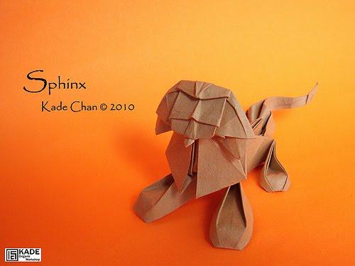 Оригами сфинкса 167