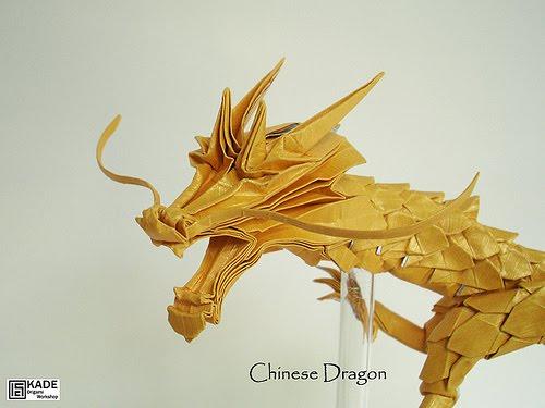 Kade Chan Origami Blog Chinese Dragon