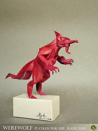 Origami Werewolf Diagr...