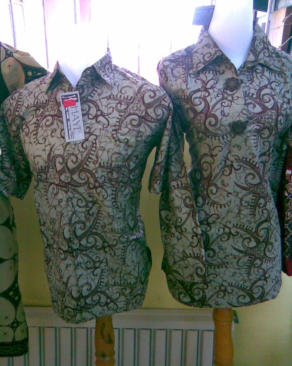 Menjual Batik Yogyakarta Sepasang Baju Batik Pria Dan Wanita