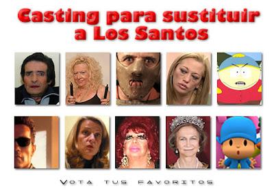 Casting sustitutos Federico Jimenez Los santos