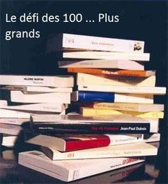 Challenge Le défi des 100 ... plus grands