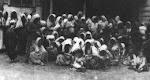 Geraubte Cham frauen in den Konzentrationslagern