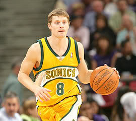 Former Seattle Sonic and Milwaukee Buck, Luke Ridnour