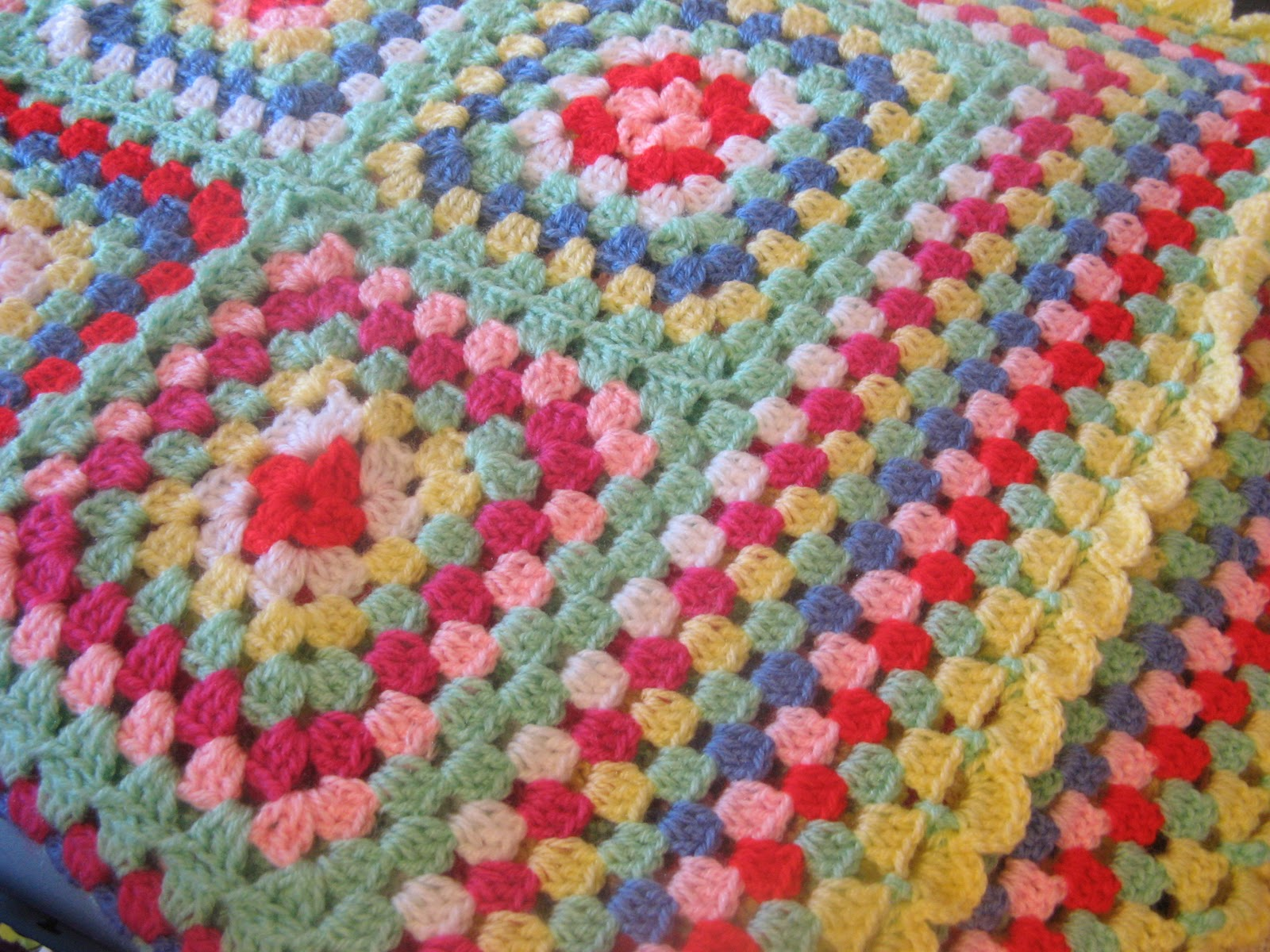 Crocheting Names On Blankets : Helens Colourful Crochet Blankets: A crochet blanket pressie for ...