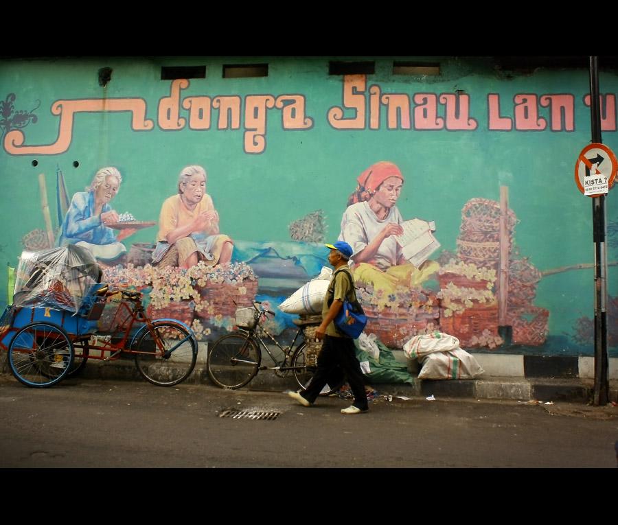 Jogja berhati mural sobondeso for Mural yogyakarta