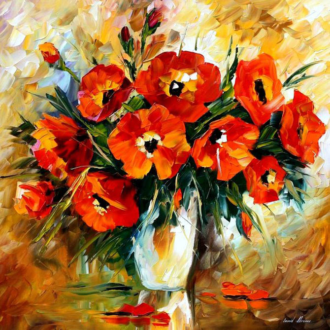 Pictures of paintings of flowers beautiful flowers for Pretty flower paintings
