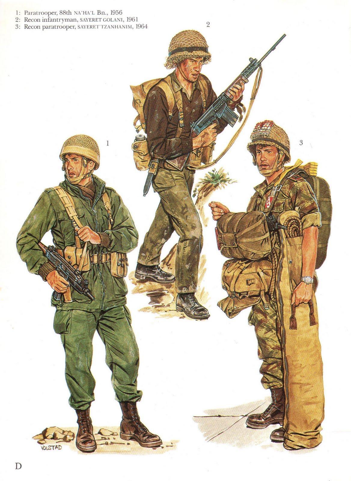 Rick S Caf 233 American Israeli Elite Units Since 1948