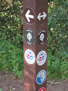 French Trail junction north