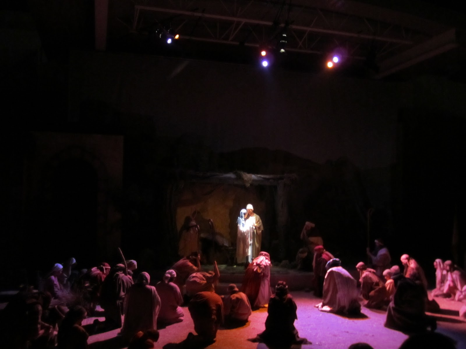 the live nativity  part 2   christmas tradition