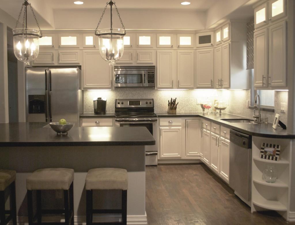 Kitchen Redo Apartment Kitchen Redo Granite Vs Quartz Is One Better Than The