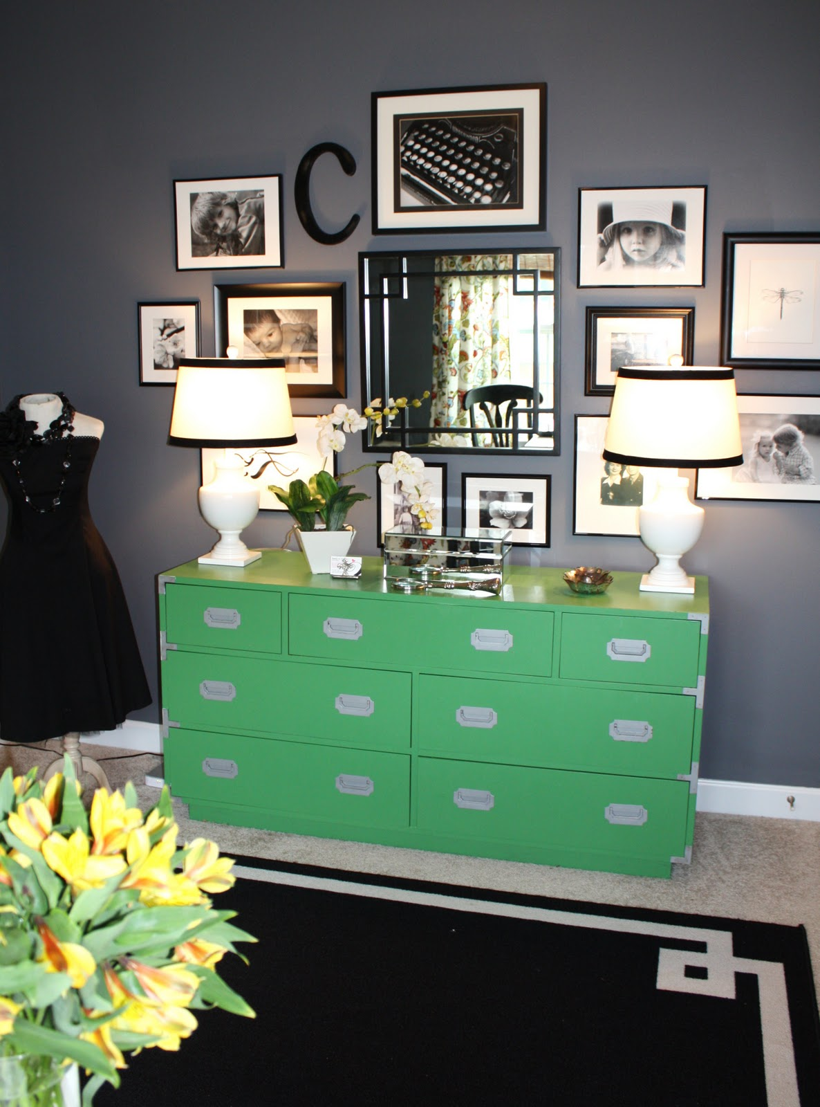 home office home office makeover emily. Fabulous Guest #2 {Emily A. Clark} Home Office Makeover Emily N