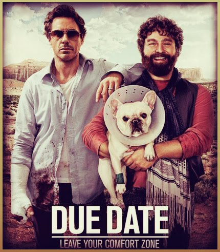 Due date movie cast