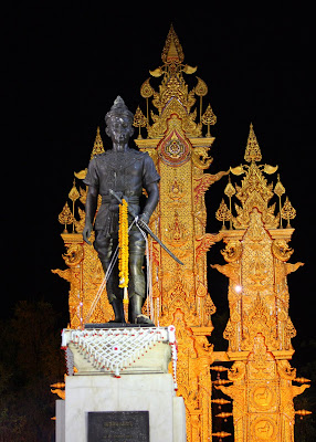 kingmengrai monument chiangrai