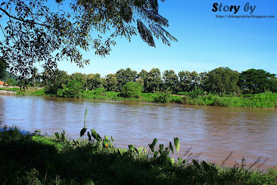 Kok river, the originated from Burma