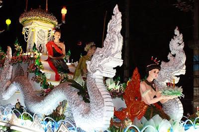 chiang rai loy krathong festival