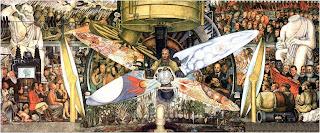 Reaviewmirror el hombre en el cruce de caminos de diego for Diego rivera lenin mural