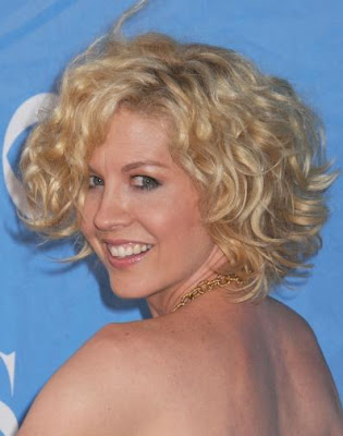The haircuts in coming autumn and winter is curly hairstyles.