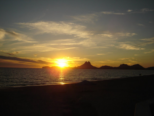 Sunset in San Carlos-Tetas de Cabras
