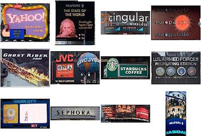publicidad de Times Square