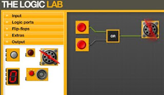 The logic Lab. Simulador electrónica digital