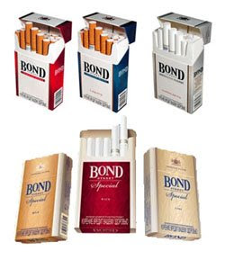 Cigarettes Golden American from United Kingdom to USA