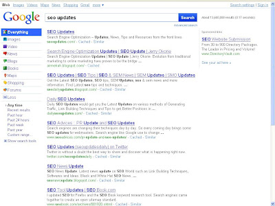 Google Search in Color Interface - Step 3
