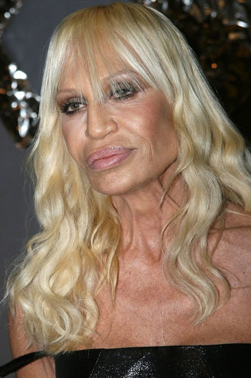 donatella versace young pictures. donatella versace young