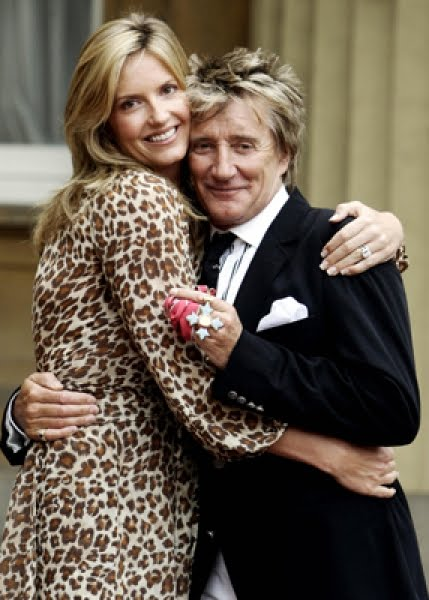rod stewart wives. Rod Stewart is going to be a