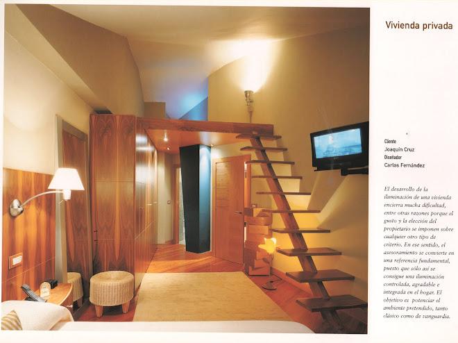 vivienda en Usansolo.foto del catalogo de iluminacion SUSAETA