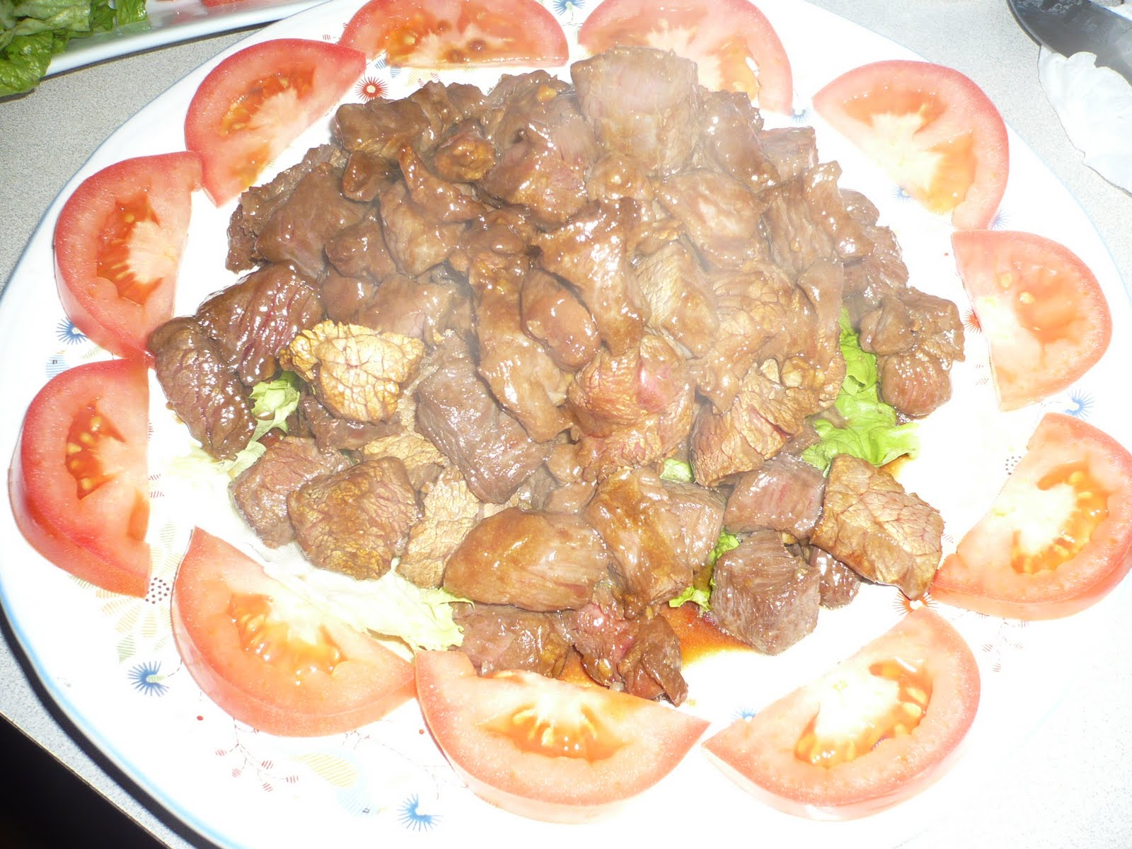 how to prepare the beef for bo luc lac