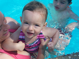Addy at Swim Lessons