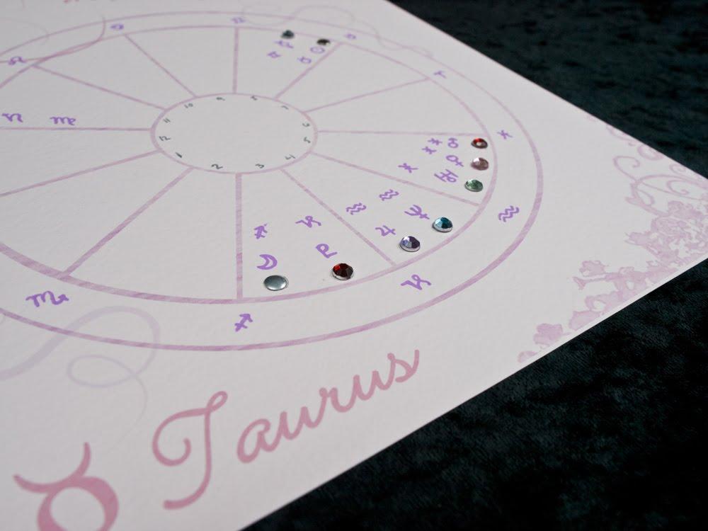 My Life Stars Astrology Girly Pink Wheel Astrology Chart Design