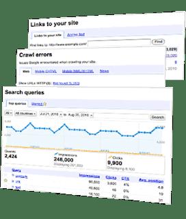 Google Webmaster Tool Snapshot