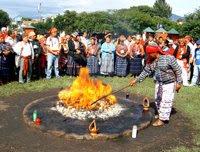 Ceremonia religiosa Maya (Kaminaljuyú)