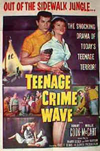 teen crime wave1 DC Comics Batman Vintage Logo Sheldon Cooper Adult T Shirt
