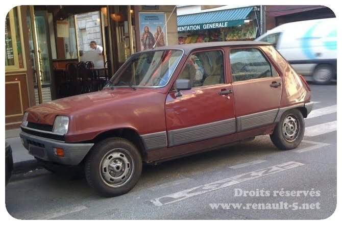 blog tout sur la renault 5 renault 5 automatic bordeaux. Black Bedroom Furniture Sets. Home Design Ideas