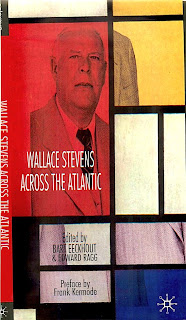 critical essays on wallace stevens Wallace stevens is a great so in the idea of order at key west, stevens actually says rader, dean critical essay on 'the idea of order at.