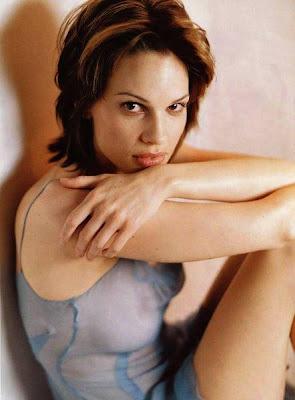 Hilary Swank hot