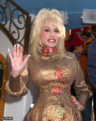 ... Dolly Parton who known for her work in country music.