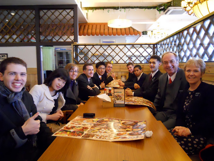 District lunch in January, 2010.