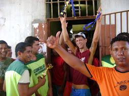 Comemoração campeonato de futebol