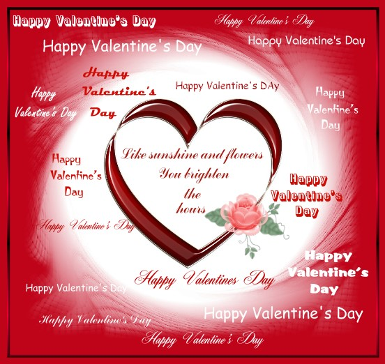 Free Romantic Cards 2014 Free Romantic eCards – Free Printable Valentine Cards for Husband