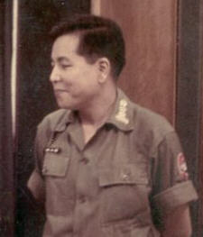 Colonel Trần Văn Hổ Director of STD