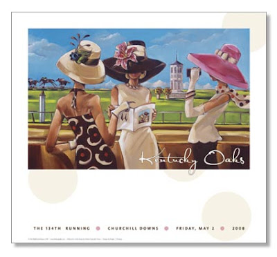 kentucky oaks artwork 2008