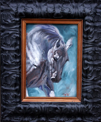 miniature horse painting