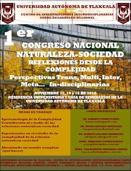 CARTEL 1er CONGRESO NACIONAL NATURALEZA-SOCIEDAD. D E S C A R G A R