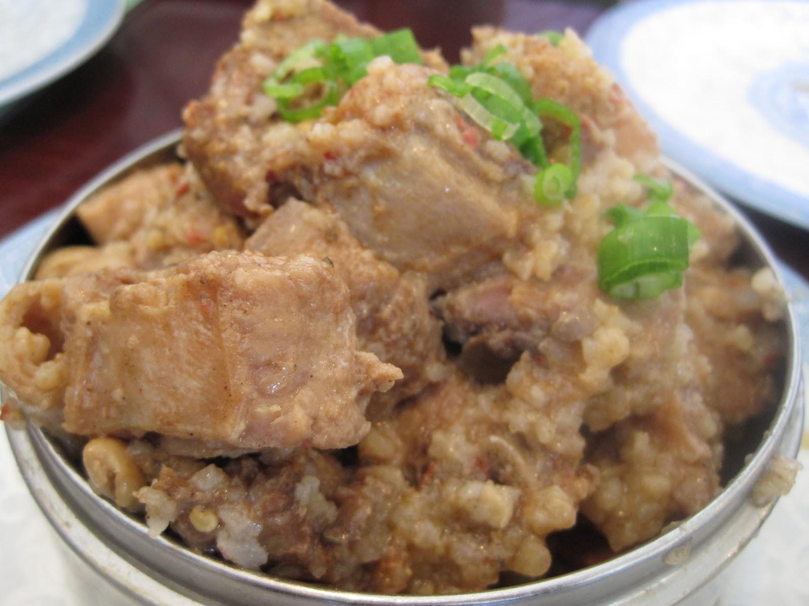 Steamed Pork Chop with Rice Flour