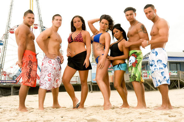 pictures of the jersey shore cast in italy. Cast of quot;Jersey Shorequot;